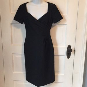 Banana Republic black sheath sz0